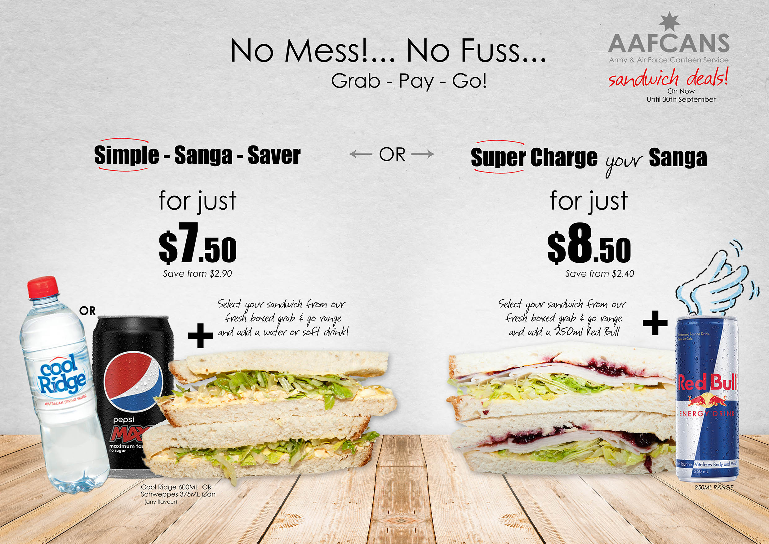 Meal Deals & Promotions - AAFCANS: Army & Air Force Canteen