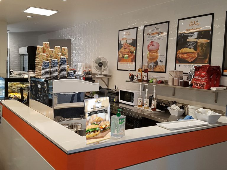 RAAF Edinburgh New Sea Lion Cafe