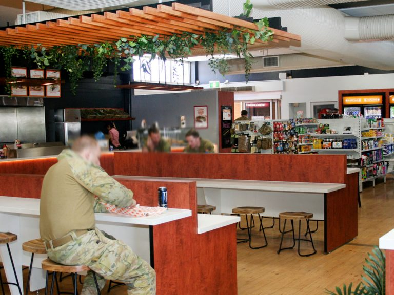Gallipoli Barracks Canteen – Upgrade