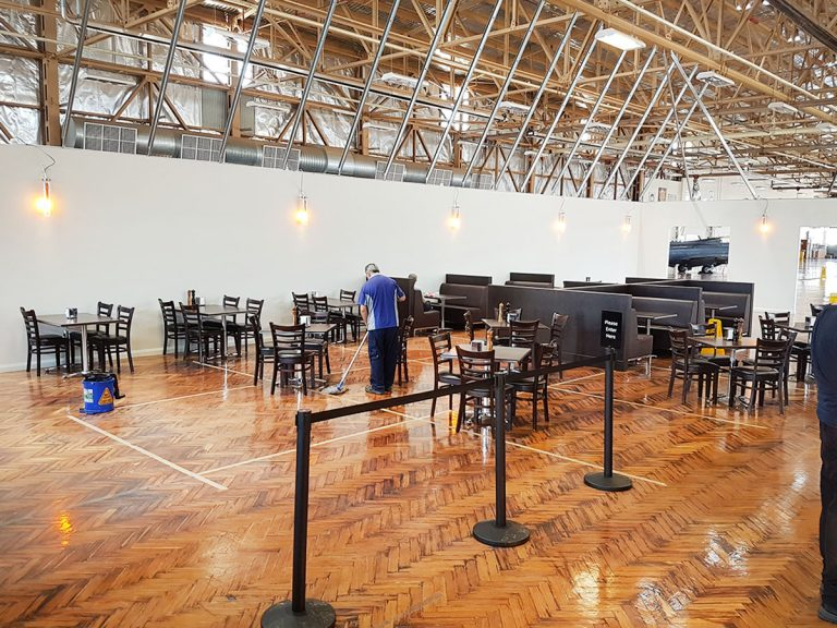RAAF Wagga Canteen – New Temporary Facility
