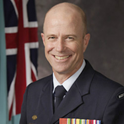 Air Commodore Martin Smith, Director General Logistics - Air Force.