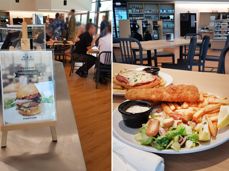 RAAF Williamtown New Canteen