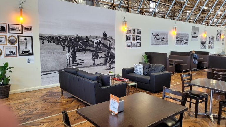Historic Hangar serves up history with a brew