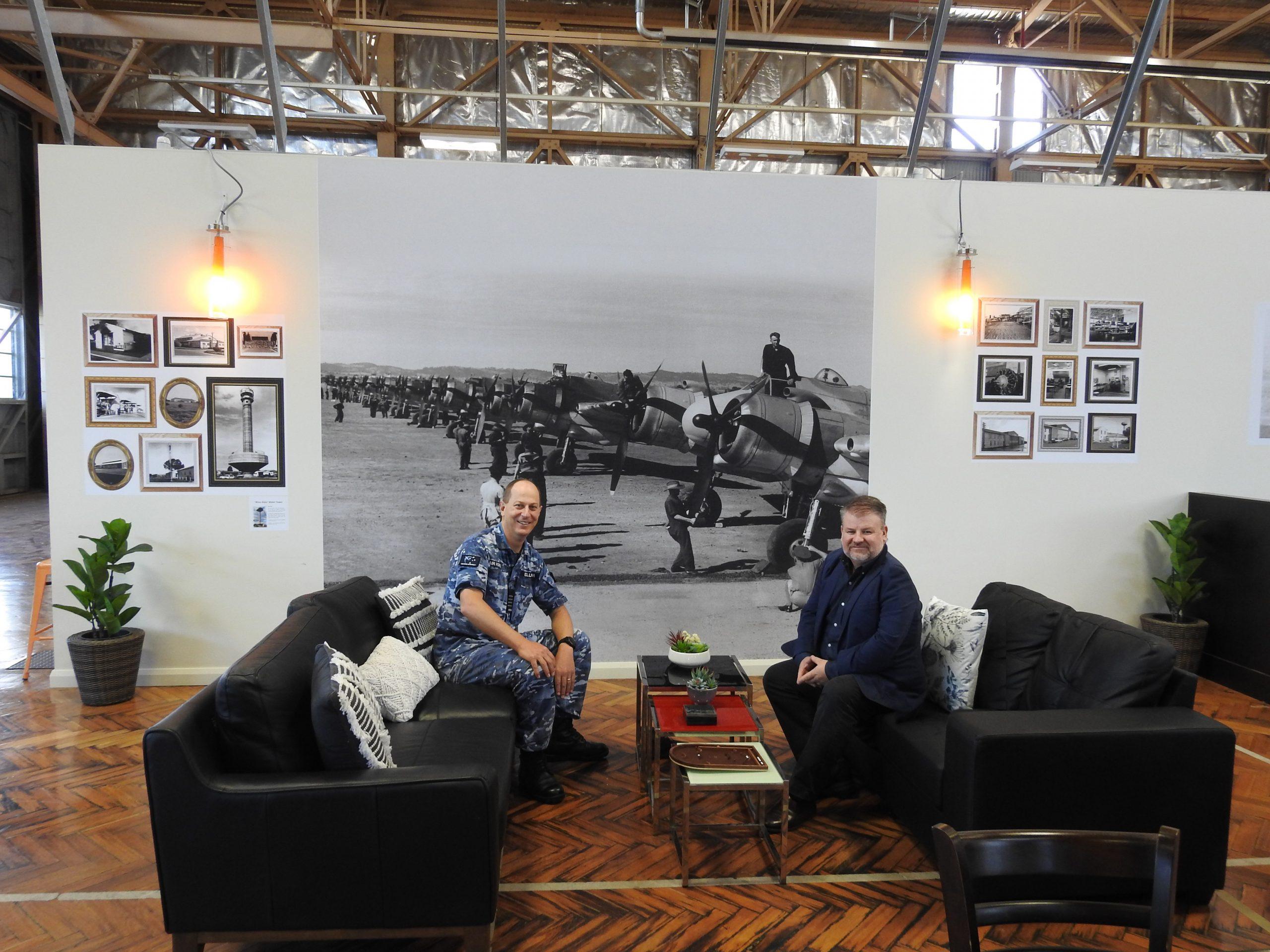 RAAF WAGGA SADFO & TIM MANIC
