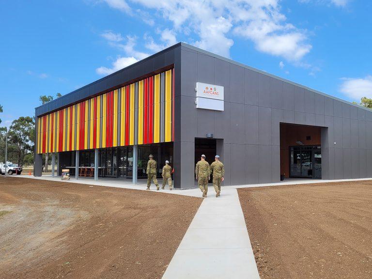 New Canteen Facility Swartz Barracks