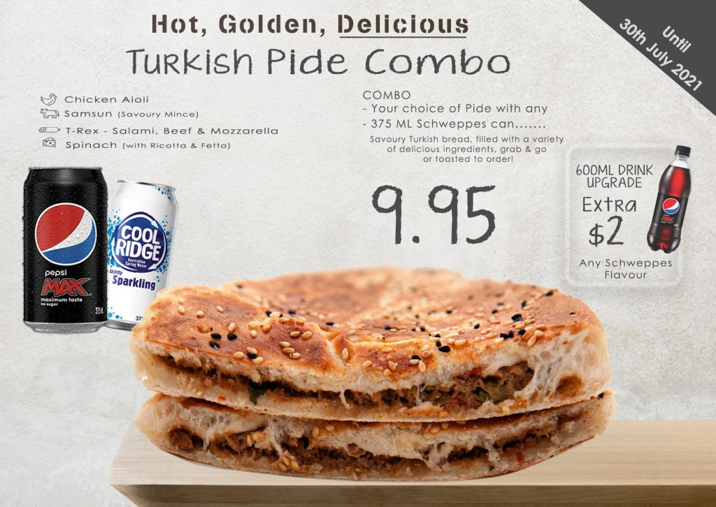Pides Promo until 30th July