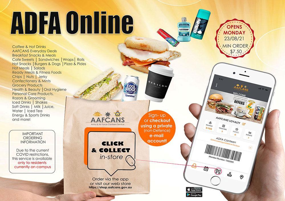 ADFA Click&Collect Web