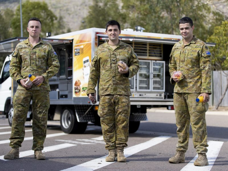 Army Amenities Vehicle